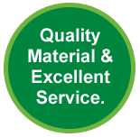 Quality Recycled Plastic Material & Excellent Service